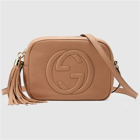 Tas Handbag K E Spade 8513 Beige soho small leather disco bag arm bags gucci
