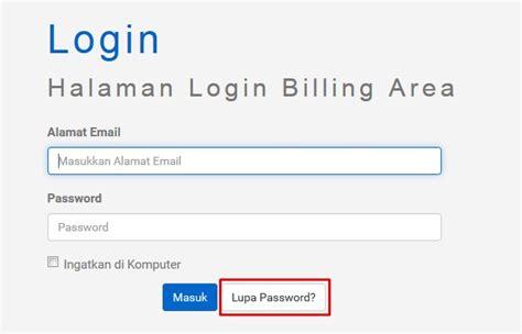 email lupa password cara reset ulang password di hosteko