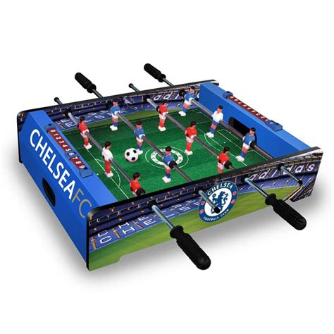 table top football chelsea fc table top football official ebay
