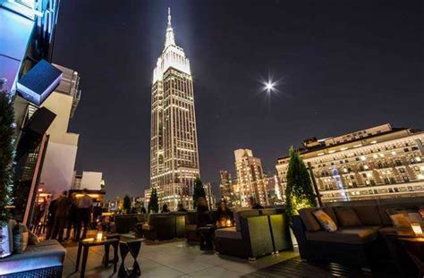 10 times square 18th floor new york ny 10018 nyc s 10 best new rooftop bars fodors travel guide