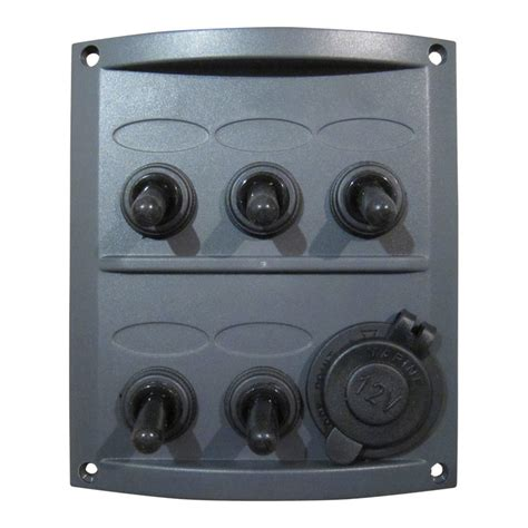 boat electrical switch panel 5 gang marine electrical switch panel boat fittings