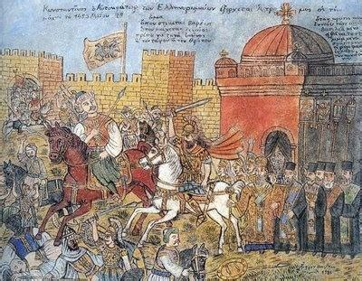 ottoman capture of constantinople what caused mehmed ii to lead the ottomans to conquer