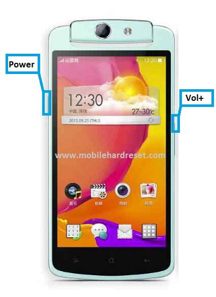 format factory oppo how to hard reset oppo n1mini