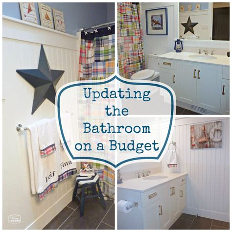 how to update a bathroom how to update a bathroom on a reasonable budget the