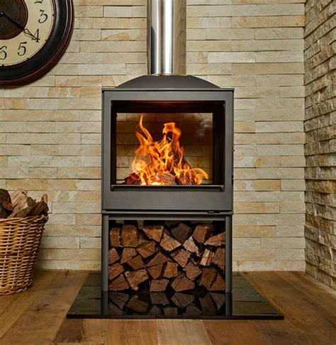 Wood Burning Fireplaces Nova Dbl Sided Sided Wood Burning Fireplace