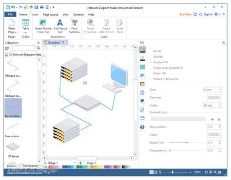 network diagram maker network diagram maker 8 7 5 for windows
