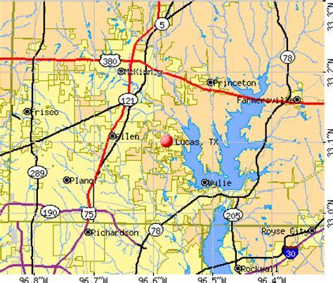 lucas texas map lucas texas map my