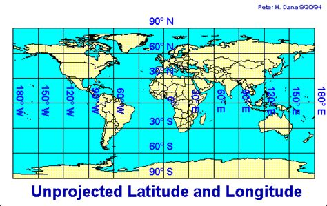 latitude and longitude map of texas map projection overview