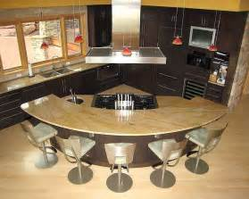 Curved Island Kitchen Designs by Curved Kitchen Island Kitchens I Like
