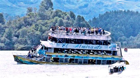 colombian boat sank colombia boat wreck sinking 9 dead 31 missing daily news