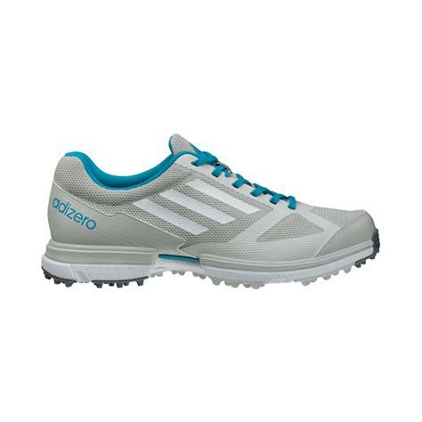 adidas adizero sport golf shoes womens grey white marine