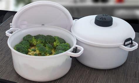 cucinare a vapore nel microonde sconto 66 su 2 pentole a pressione per microonde groupon
