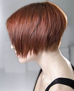graduated layered blunt cut hairstyle short graduation haircut