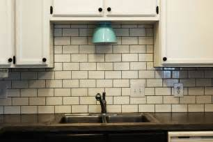 How To Tile A Kitchen Backsplash by How To Install A Subway Tile Kitchen Backsplash