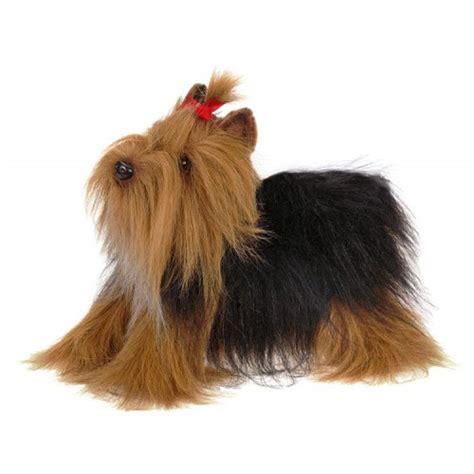 stuffed yorkie puppy hansa creation terrier 14 inch plush toys stuffed animals