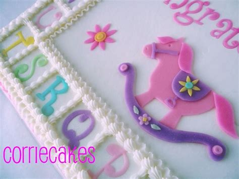 Rocking Baby Shower Cake by Rocking Baby Shower Cakecentral