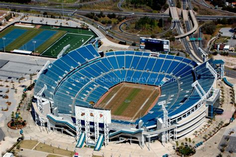 Jacksonville Jaguars Stadium Everbank Field Jacksonville Fl Seating Chart View