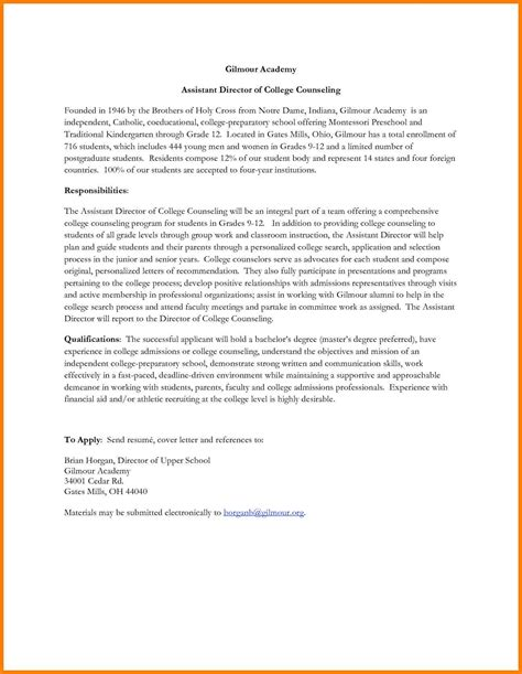 cover letter for assistant resume 8 preschool cover letter precis format
