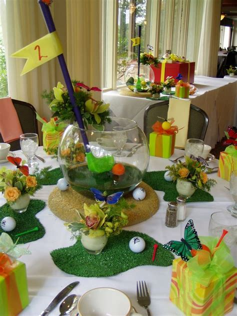 Golf inspired bridal shower lunch.   Social & Corporate