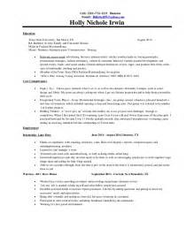 holly irwin resume