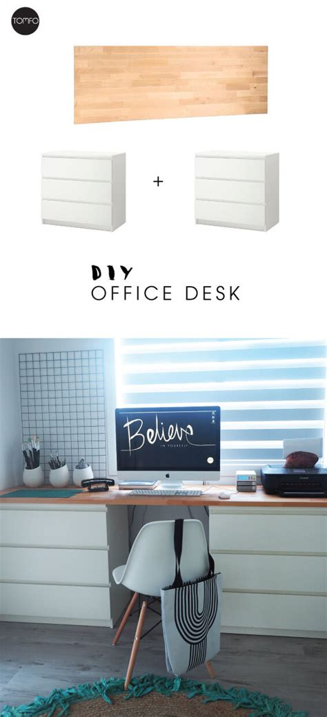diy desk drawers diy desk with two drawers and a of wood tomfo