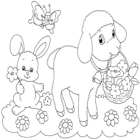 dibujos para colorear primavera dibujos para colorear de la primavera muy bonitos