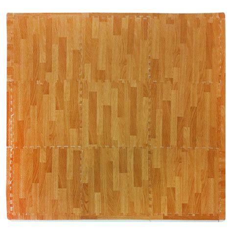26 best printed tile vinyl mats images on pinterest tadpoles wood grain natural 36 in x 36 in eva floor mat