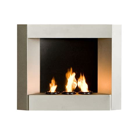 mw6085f silver finish wall mount only fireplace gel