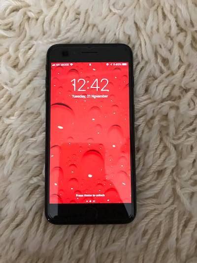 Iphone 7 Plus 256gb Oem Fullset New Ori Bnib iphone 7 plus 256gb in jet black used sold