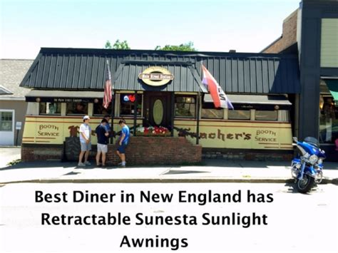 plymouth diner retractable awnings in plymouth nh awningsnh