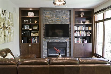 Rustic Backsplash For Kitchen Rustic Modern Kitchen And Family Room Contemporary