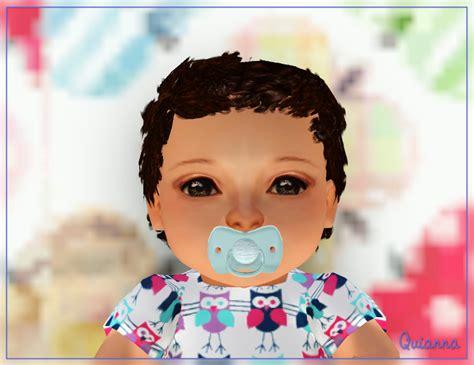 sims 3 baby hair sims3pack curly hair quianna curly babies