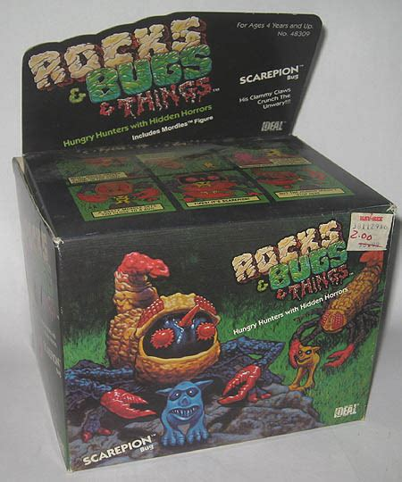 don t rock the boat advert rocks and bugs and things do you remember