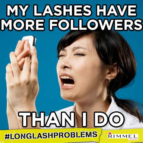 Rimmel London Meme - rimmel london longlashproblems kim merritt