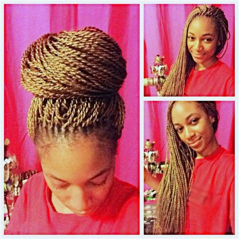 hairstyles for unfinished braids how i crocheted micro senegalese twists into my hair