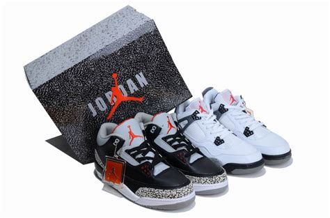 special edition basketball shoes cheap and new limited edition box air 3 and 4 white