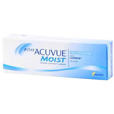 most comfortable contact lenses for astigmatism 1 day acuvue moist for astigmatism 30 pack contact lenses