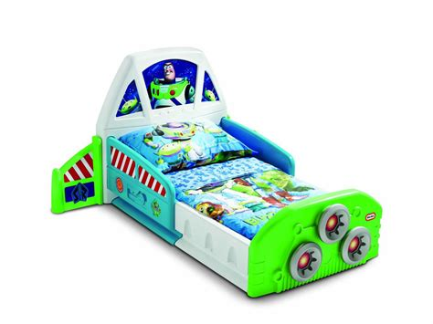 buzz lightyear bed little tikes buzz lightyear spaceship toddler bed by oj
