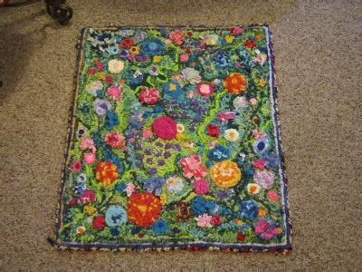 how to finish a rug hooking project the of 3 mixed media locker hooked plus latch hooked