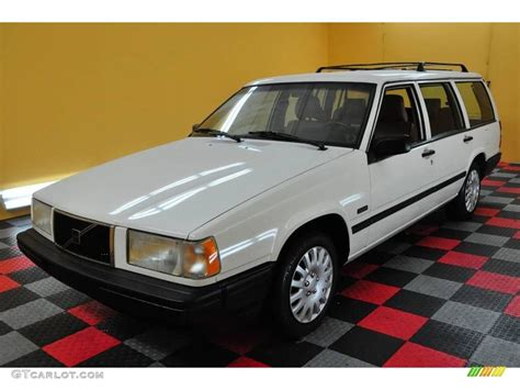 volvo 940 interior 1995 white volvo 940 wagon 18299594 photo 3 gtcarlot