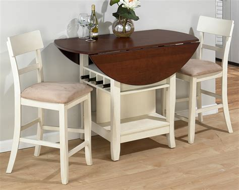 kitchen table with leaf and chairs drop leaf kitchen table winda 7 furniture