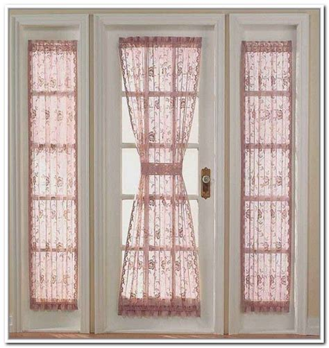 window curtains for doors door side window treatments window treatments