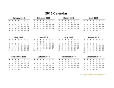 free yearly calendar 2015 kays makehauk co