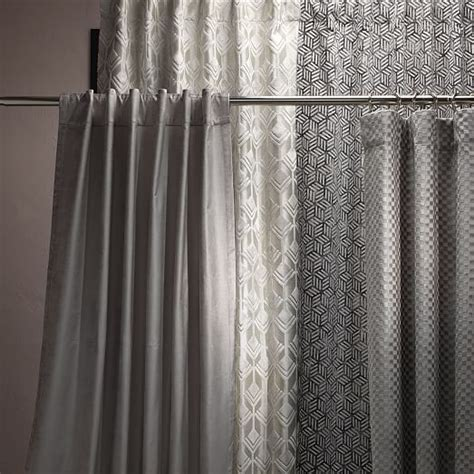 west elm velvet curtains blocks printed velvet curtain blackout lining iron