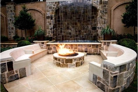 Backyard Ideas With Firepit Backyard Pit Ideas Landscaping Marceladick