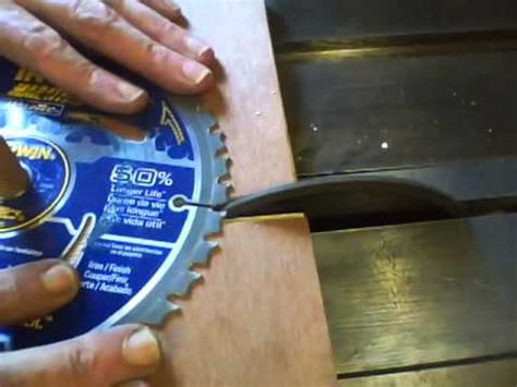 table saw blade sharpening how i sharpen table saw blades in real time ibowbow