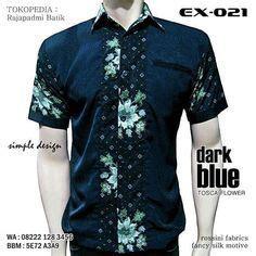 Kemeja Batik Koko Black Prada seragam batik kombinasi kemeja batik kombinasi modern coklat ex 020 batik kombinasi polos muda
