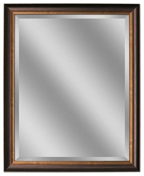 bronze bathroom mirrors deco mirror mirrors 32 in l x 26 in w framed wall mirror
