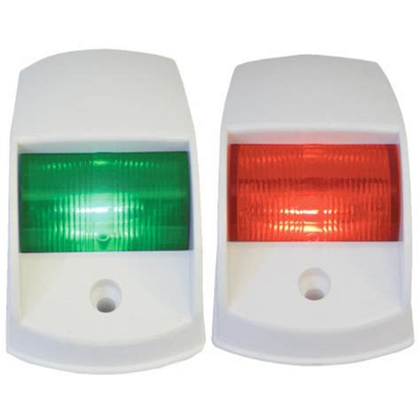 boat navigation lights whitworths 12v led port starboard navigation lights white 38 95