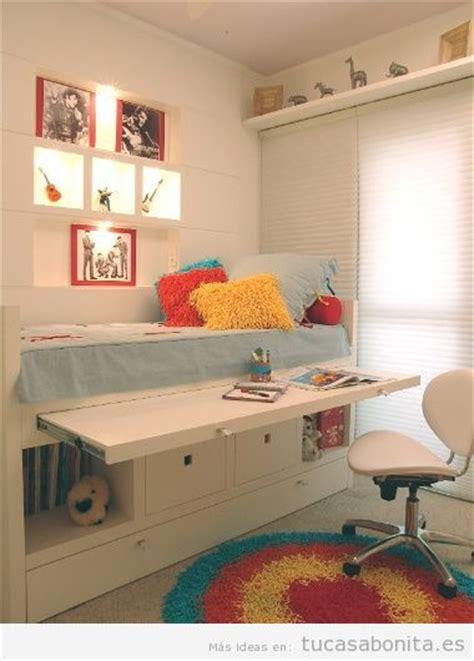 como decorar una habitacion juvenil peque a ideas almacenaje habitacion peque 241 a